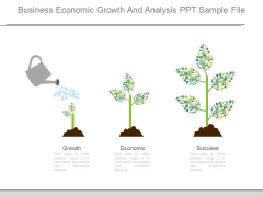 Business Economic Growth And Analysis Ppt Sample File