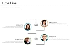 Business Employee Pictures Timeline Diagram Powerpoint Slides