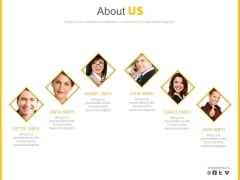 Business Employees Profiles For About Us Powerpoint Slides