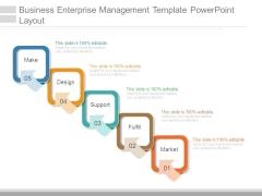 Business Enterprise Management Template Powerpoint Layout