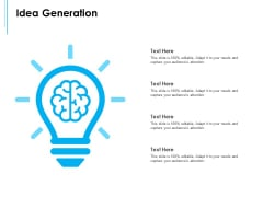 Business Environment Components Idea Generation Ppt Portfolio Objects PDF