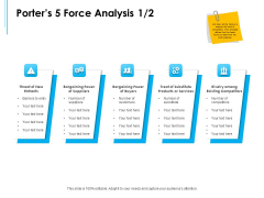 Business Environment Components Porters 5 Force Analysis Suppliers Ppt Outline Tips PDF