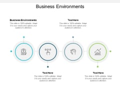 Business Environments Ppt PowerPoint Presentation Slides Smartart Cpb