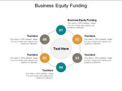 Business Equity Funding Ppt PowerPoint Presentation Show Icons Cpb