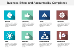 Business Ethics And Accountability Compliance Ppt PowerPoint Presentation Infographics Professional