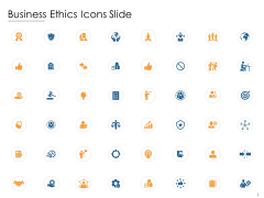 Business Ethics Icons Slide Ppt PowerPoint Presentation Infographics Background Designs
