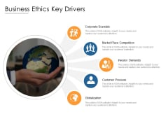 Business Ethics Key Drivers Ppt PowerPoint Presentation Infographics Graphic Images