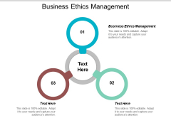 Business Ethics Management Ppt PowerPoint Presentation Summary Graphics Example Cpb