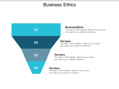 Business Ethics Ppt Powerpoint Presentation Layouts Brochure Cpb
