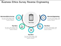 Business Ethics Survey Reverse Engineering Ppt PowerPoint Presentation Infographics Portrait