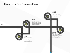 Business Evacuation Plan Roadmap For Process Flow Ppt PowerPoint Presentation Infographics Graphics Template PDF