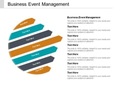 Business Event Management Ppt PowerPoint Presentation Pictures File Formats Cpb
