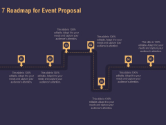Business Event Planning 7 Roadmap For Event Proposal Ppt Styles Example Introduction PDF