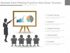 Business Event Planning Powerpoint Slide Design Templates
