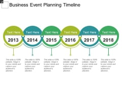 Business Event Planning Timeline Ppt PowerPoint Presentation Ideas Background Designs
