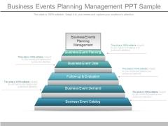 Business Events Planning Management Ppt Sample