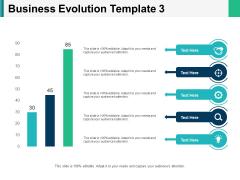 Business Evolution Chart Ppt PowerPoint Presentation Inspiration Graphics Tutorials