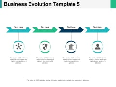 Business Evolution Process Ppt PowerPoint Presentation Gallery Deck