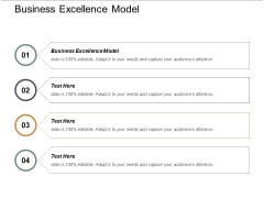 Business Excellence Model Ppt PowerPoint Presentation Outline Objects Cpb