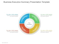 Business Executive Summary Ppt PowerPoint Presentation Ideas