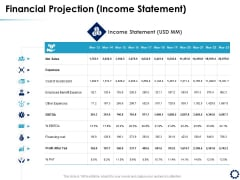 Business Expansion Framework Financial Projection Income Statement Ppt Visual Aids Styles PDF
