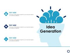Business Expansion Framework Idea Generation Ppt Pictures Brochure PDF