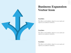Business Expansion Vector Icon Ppt PowerPoint Presentation Gallery Example File