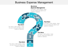 Business Expense Management Ppt PowerPoint Presentation Icon Graphics Download Cpb