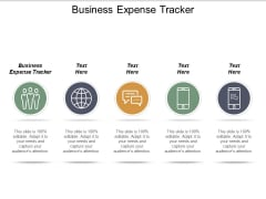 Business Expense Tracker Ppt PowerPoint Presentation Infographics Influencers Cpb