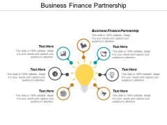 Business Finance Partnership Ppt PowerPoint Presentation Portfolio Graphics Cpb