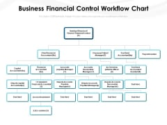 Business Financial Control Workflow Chart Ppt PowerPoint Presentation Show Gallery PDF