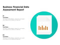 Business Financial Data Assessment Report Ppt PowerPoint Presentation File Format Ideas PDF