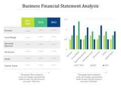 Business Financial Statement Analysis Ppt PowerPoint Presentation Gallery Gridlines PDF