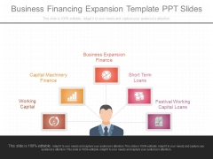Business Financing Expansion Template Ppt Slides