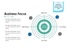 Business Focus Ppt PowerPoint Presentation Ideas Templates