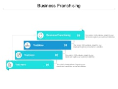 Business Franchising Ppt PowerPoint Presentation Outline Guidelines Cpb