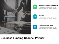 Business Funding Channel Partner Ppt PowerPoint Presentation Inspiration Professional Cpb