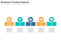 Business Funding Network Ppt PowerPoint Presentation Professional Information Cpb