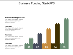 Business Funding Start Ups Ppt PowerPoint Presentation Professional Guide Cpb