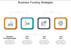 Business Funding Strategies Ppt PowerPoint Presentation Professional Show Cpb