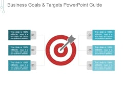 Business Goals And Targets Ppt PowerPoint Presentation Clipart