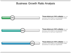 Business Growth Ratio Analysis Ppt PowerPoint Presentation Gallery Design Templates