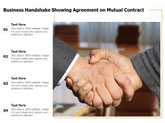 Business Handshake Showing Agreement On Mutual Contract Ppt PowerPoint Presentation Inspiration Slide Portrait PDF