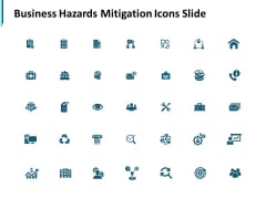 Business Hazards Mitigation Icons Slide Growth Ppt PowerPoint Presentation Layouts Visual Aids