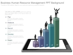 Business Human Resource Management Ppt Background