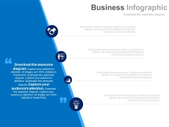Business Icons With Quotes Space Powerpoint Slides