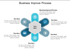Business Improve Process Ppt Powerpoint Presentation Pictures Slideshow Cpb