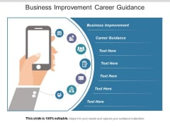 Business Improvement Career Guidance Ppt PowerPoint Presentation Show Maker