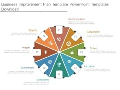 Business Improvement Plan Template Powerpoint Templates Download