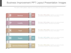 Business Improvement Ppt Layout Presentation Images